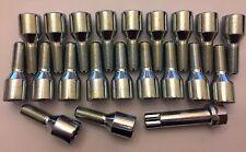 20 x m12x1.25 Sintonizzatore + tasto 62mm lungo 36mm Filo Ruota Bulloni Si Adatta Alfa Romeo 58.1