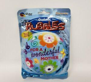 "Qualatex Bubbles 22/"" Pumpkin Stretchy Plastic Balloon XL"