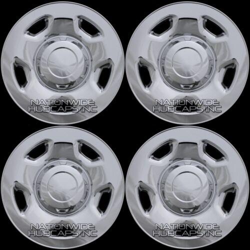 2004-2012 Ford F150 17 Chrome Wheel Skins Hub Caps 5 Spoke Full Rim Covers New
