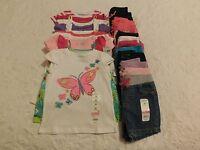 Girls Clothes Size 24 Mo Lot Summer Shirts Shorts Brand Retail $290