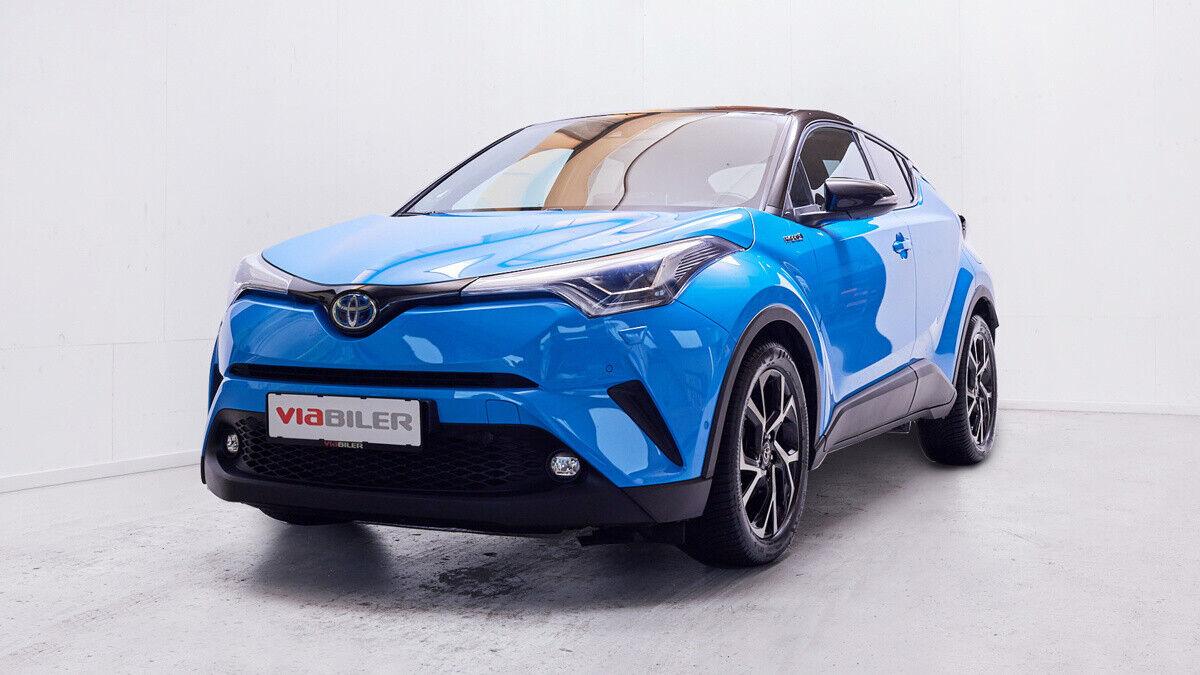 Toyota C-HR 1,8 Hybrid C-LUB Business CVT 5d - 234.900 kr.