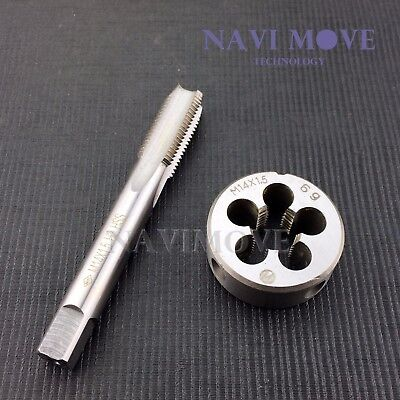 M14 x 1.5mm Metric HSS Tap and Die Set Right Hand Thread High Quality US Stock
