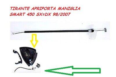 CAVO FILO TIRANTE MANIGLIA APRIPORTA ESTERNA SMART FORTWO 450 DAL 1996 AL 2007