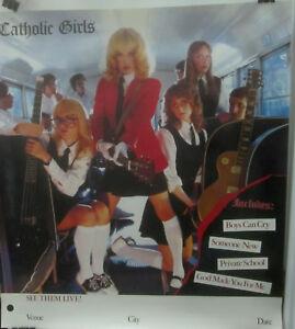 Catholic-Girls-Rock-CATHOLIC-GIRLS-Tour-Poster-1982-VG