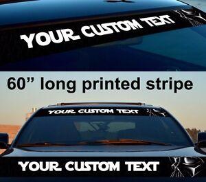 Custom Star Wars Darth Sun Strip Printed Windshield Car Vinyl - Custom vinyl decals for car windshield