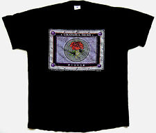 Grateful Dead Shirt T Shirt Vintage 1995 Final Tour Stone Roses Black Tee GDM L