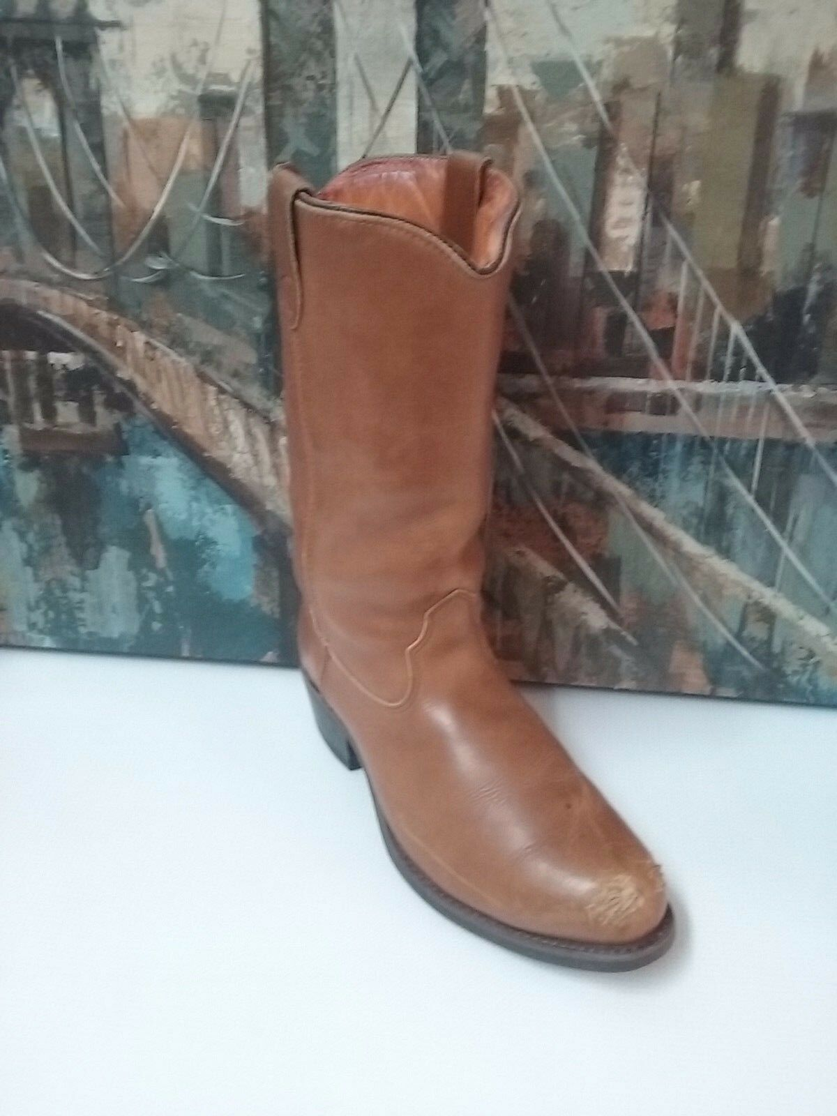 Double H 1658 Mens  Cowboy Boots Size 9 D