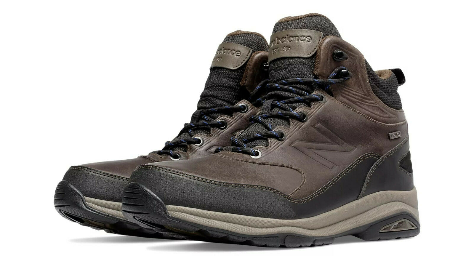 New Balance Men's MW1400DBv1 Waterproof Walking shoes, Dark Brown, Size 9EEEE