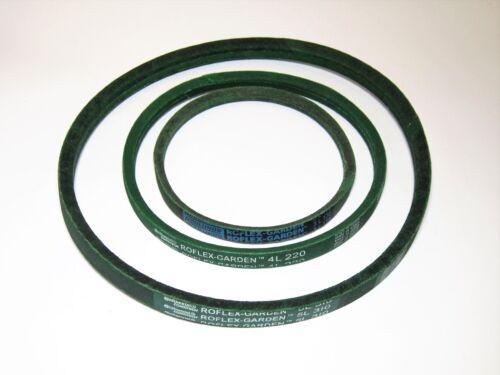 di 407 mm a 1474 mm 12,7mm Cinghie trapezoidali per mähwerke//attrezzi da giardino profilo 4l