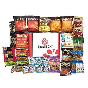 Healthy snacks care package for college students dorms campus easter stock photo negle Gallery