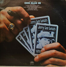 JERRY LEE LEWIS - ODD MAN IN - MERCURY STEREO SRM-1-1064  LP (X453)