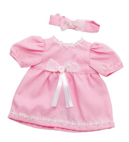 Puppenset Puppenkleid  für 46 cm Baby-Puppen  84603-1 Puppendress