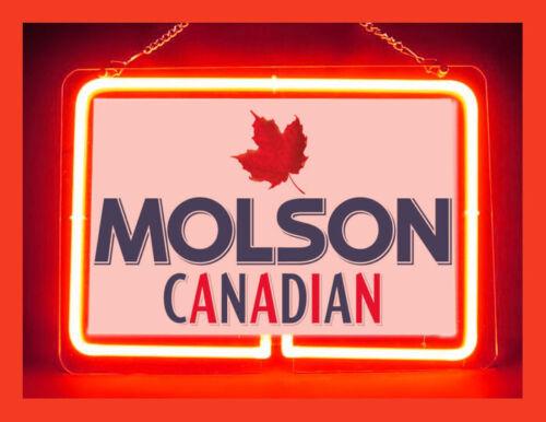 Molson Canadian Beer Hub Bar Display Advertising Neon Sign