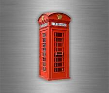 Sticker adesivi adesivo murali auto moto bandiera UK cabina telefonica inglese