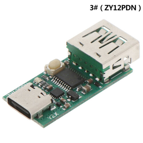 1Pc Type-C USB-C PD2.0 3.0 to DC USB fast charge trigger Poll detector Charg  SF