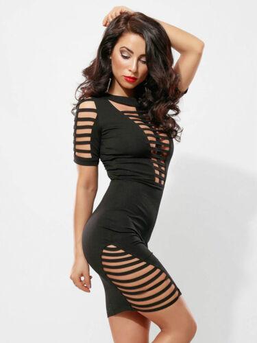 Cocktailkleid Damenkleid Alina Partykleid Xs out Risse Kleid Minikleid Cut By m qfX5xOTT