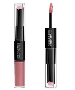 L-039-Oreal-INFAILLIBLE-24H-LIPSTICK-DUO-2-STEP-Rouge-a-levres-timeless-rose-110