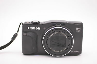 2019 Nieuwe Stijl Canon Powershot Sx700 Hs 16.1mp Digital Camera - Black