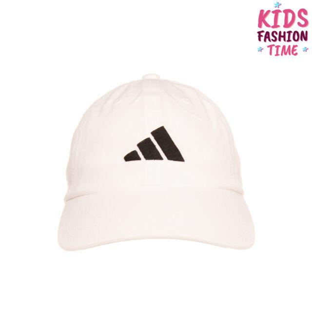 ADIDAS Baseball Cap One Size Embroidered Logo Curved Peak Strapback