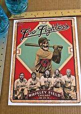 Foo Fighters Mini-Concert Poster Reprint for 2015 Chicago ILL Concert 14x10