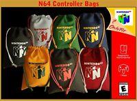 Nintendo N64 Canvas Controller Bags
