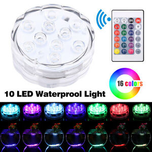 Diving-Aquarium-RGB-Remote-Control-Waterproof-10LED-Candle-Light-Lamp-Underwater