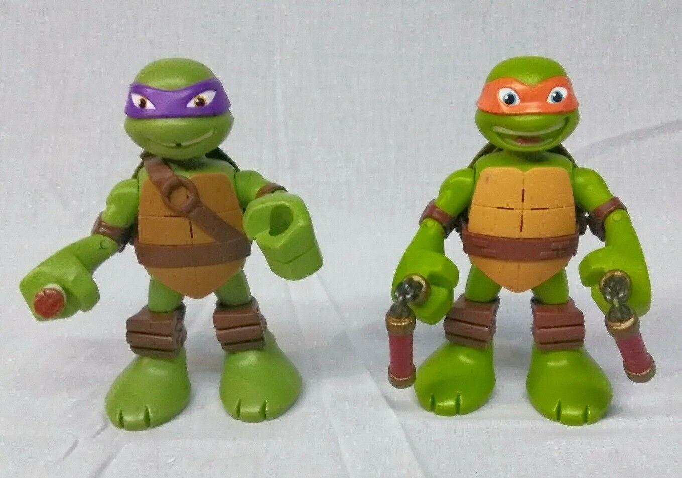 2014 teenage mutant ninja turtles 6  spricht donatello michelangelo tmnt - spielzeug