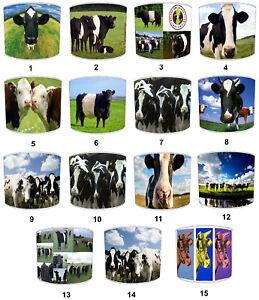 VACHES-BOVINS-Designs-abat-jour-ideal-pour-correspondre-a-Bovins-Vaches-housses-de-couette