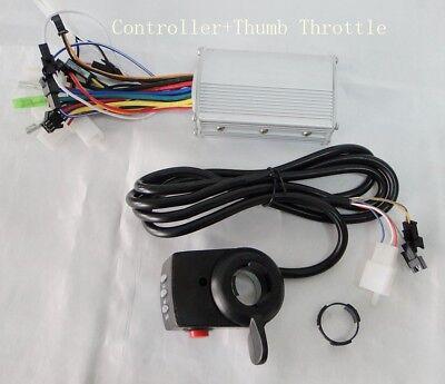 36V 500W 9Mosfets E-Bike Scooter Brushless Hub Motor Controller throttle
