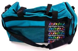 Olympic-1996-Atlanta-Torch-Relay-Coca-Cola-Coke-18-034-X-10-034-Duffel-Bag-Side-Carry