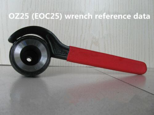 Machine à Fraiser partie mois courbé clé OZ25 Changement Rapide fraisage Chuck clé