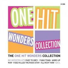THE ONE HIT WONDER COLLECTION 3 CD BOX 30 TRACKS NEU