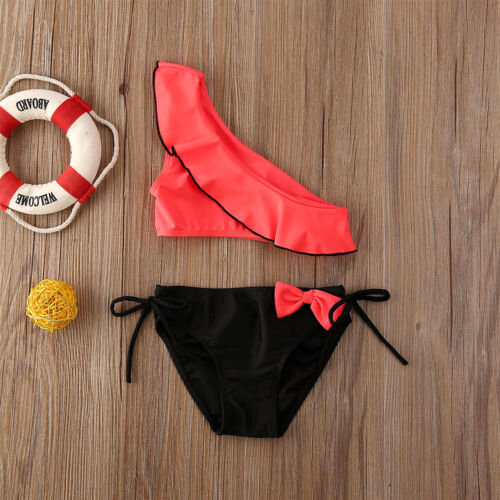 Fashion 2PCS Baby Girl Summer  Swimwear Kids Split Swimsuit Bikini Set Swimsuit