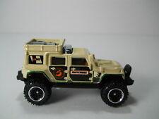Matchbox Jeep Wrangler Super Lift 4x4 Tan Pearl 1/64 Scale JC41