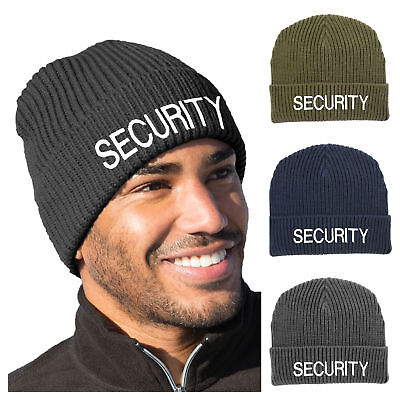 Comcast Black Knit Beanie Winter Hat Toque Skull Cap Cuffed 100/% ACRYLIC
