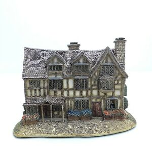 Lilliput-Lane-SHAKESPEARE-039-S-BIRTHPLACE-1998-Rare-BOXED-WITH-DEEDS