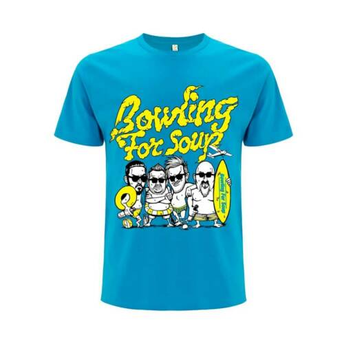 NEW Bowling For Soup /'Beach Boys/' T shirt