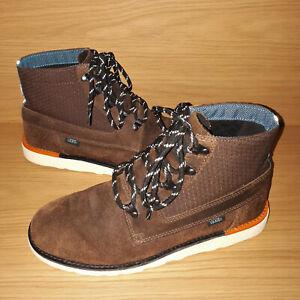 c0529e873b3e Vans OTW Breton Leather Ankle Boots Mens UK 6.5 EU 40 US 7.5 Brown ...