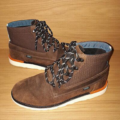 Vans Breton Boot Mens Leather Boots