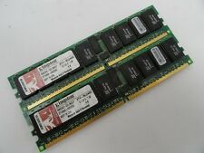 Kingston 8GB RAM Kit - 2 x 4GB 400MHz DDR-400 PC2-3200 DDR2 SDRAM 240-Pin