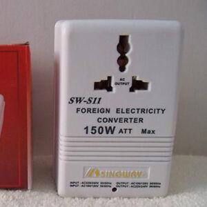 150W Universal Travel Adapter Voltage Converter 110V To 220V Power Transformer