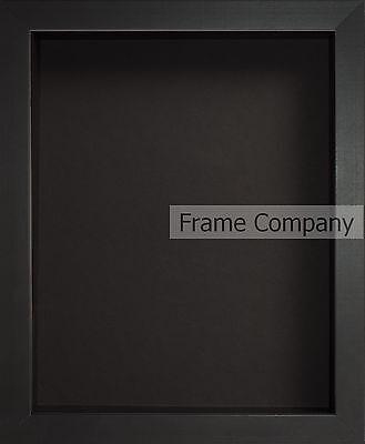Frame Company Radcliffe Range Black Wooden Box Frame in Various Sizes