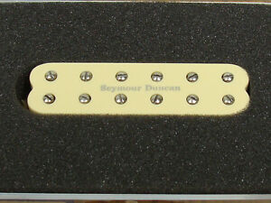 NEW-Seymour-Duncan-SJBJ-1b-JB-Jr-Strat-PICKUP-Bridge-Cream-for-Stratocaster