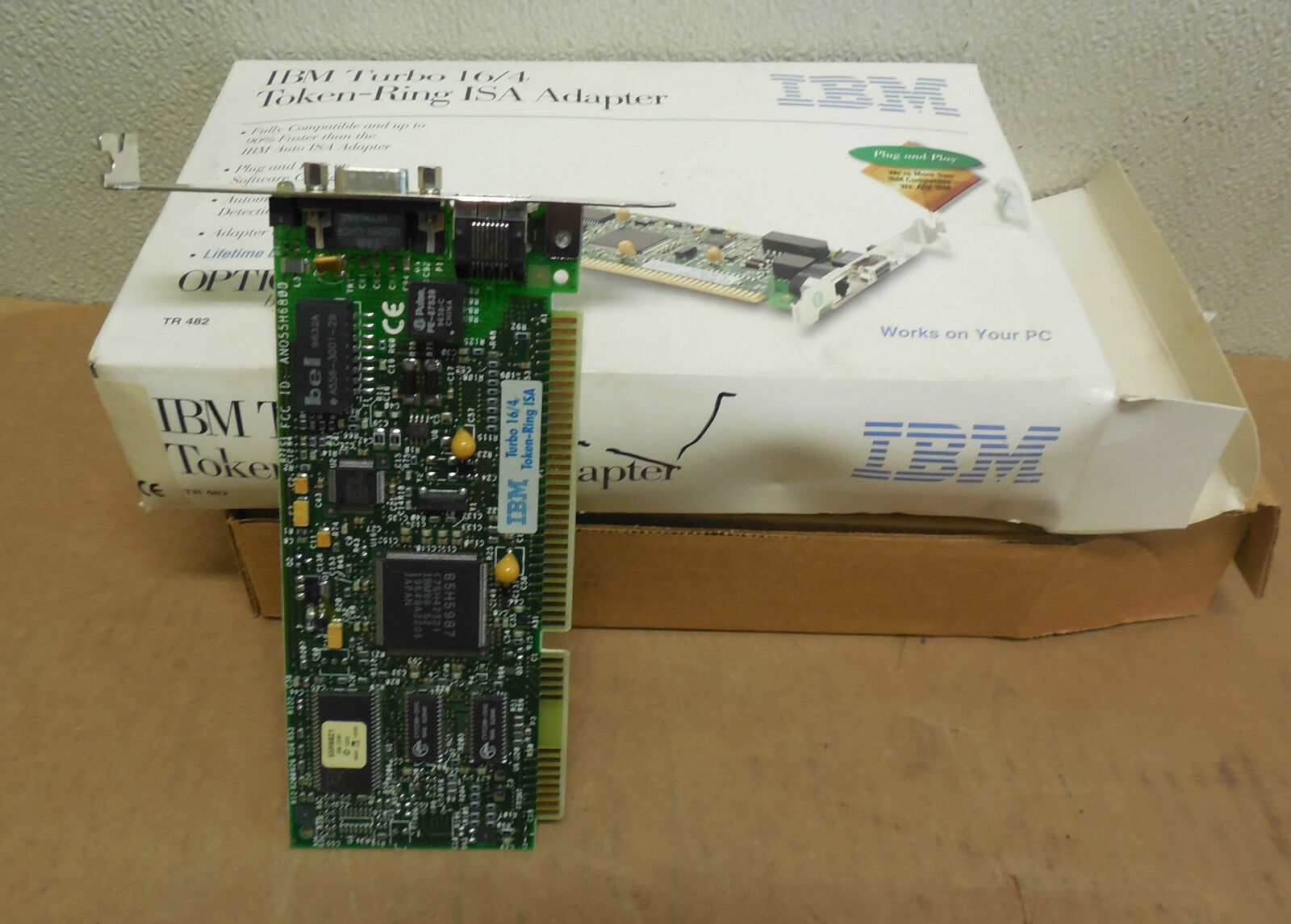 IBM TURBO 164 TOKEN RING ISA WINDOWS 7 64BIT DRIVER