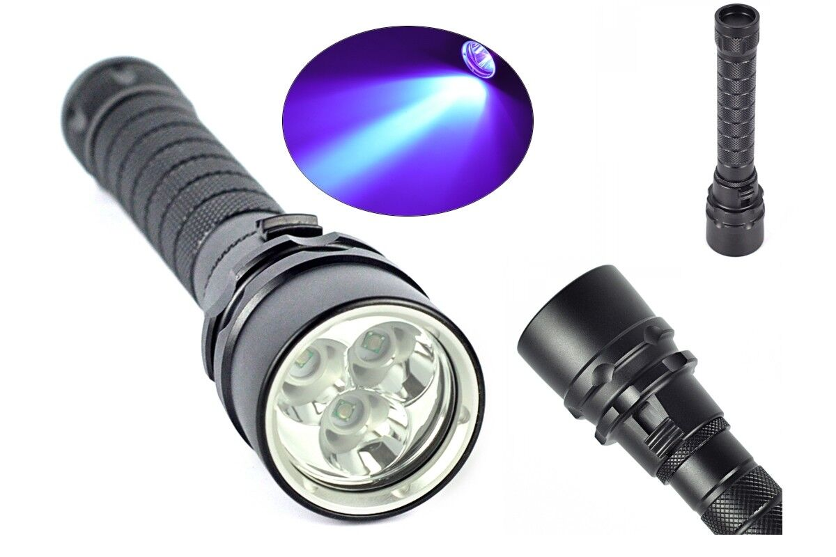 Ufi Pro UV Lampe WF-701 Hammer 10 Watt UV Pro LED Schwarzlicht Geocaching, Security 556745