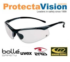 4f36dcc2f36 Bolle Clear Glasses 99.99%UV protection low light Cycling Safety + ...