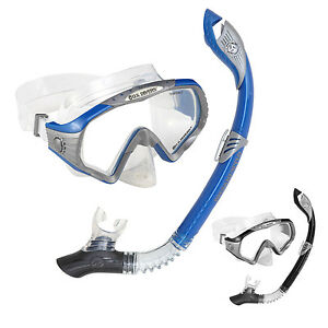 SALE! US DIVERS STARBUCK LADIES WOMENS SNORKEL 2-PIECE SET MASK ... a3ee50dff3