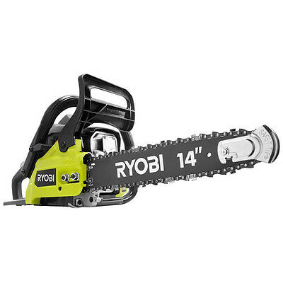 """Ryobi 37cc 14"""" 2-Cycle Gas Chainsaw ZRRY3714 Reconditioned"""