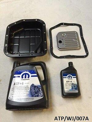 Transmission Oil Pan & Service Kit Jeep Grand Cherokee 4.0 1993-2004 Atp/wj/007a Complete Reeks Artikelen