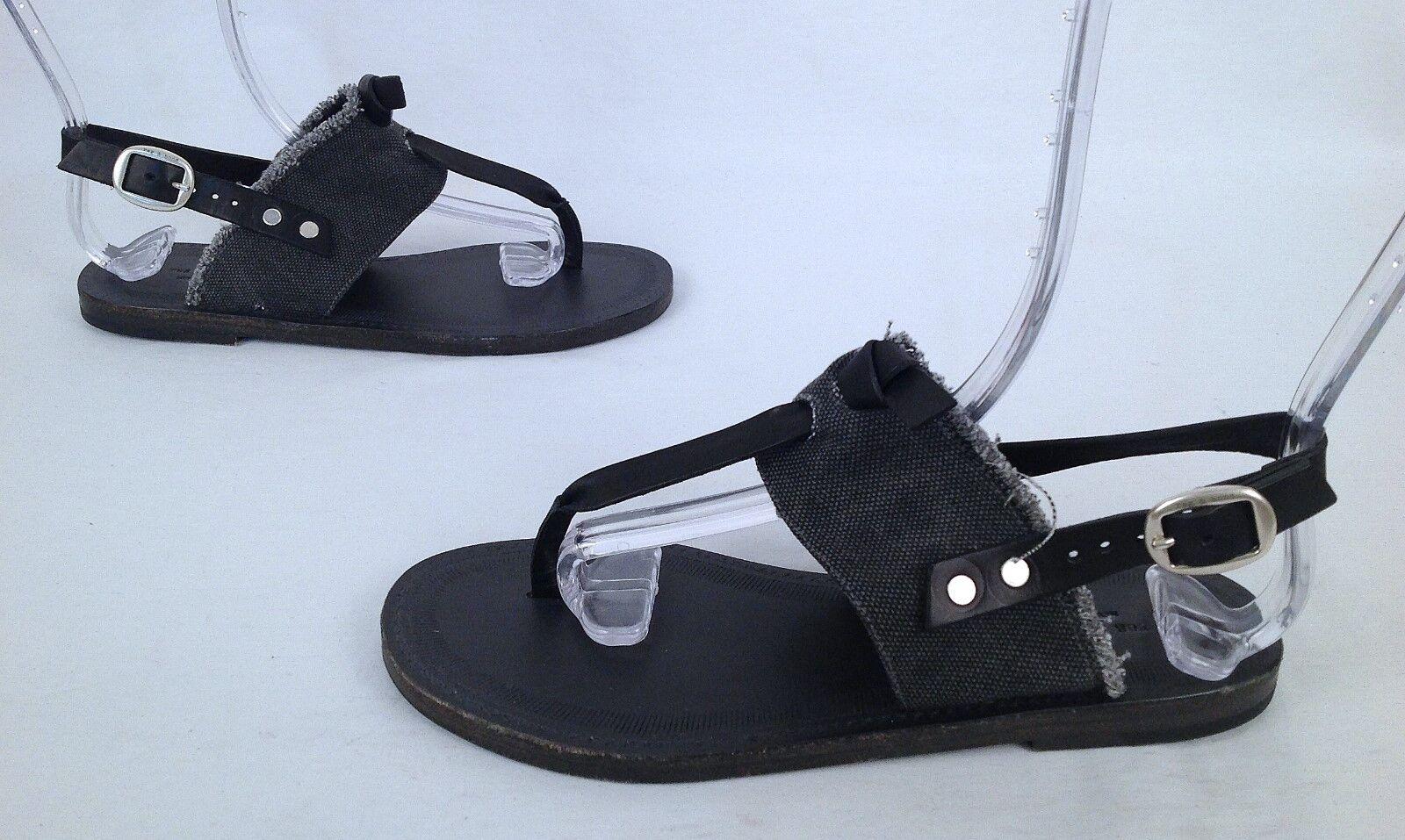Seleccione de las marcas más nuevas como     nuevo      Rag & Bone 'Quinn' Sandalia-Negro gris-EE. UU. 36 UE  (P21)  70% de descuento